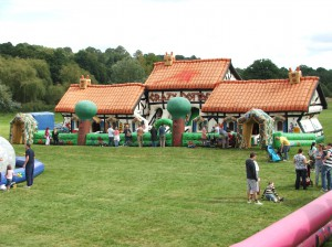 Inflatables for Company Family Fun Day Midlands